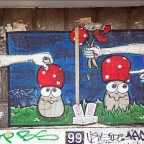 Lustige Pilze