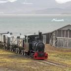 Ny-Ålesund - alte Kohlebahn