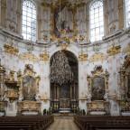 Kloster Ettal Innenraum
