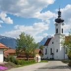 Unterwegs in Bayern -Kirche in Rieden am Forggensee