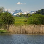 Unterwegs in Bayern am Haslacher See