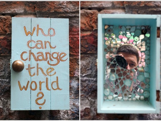 Who can change the world?