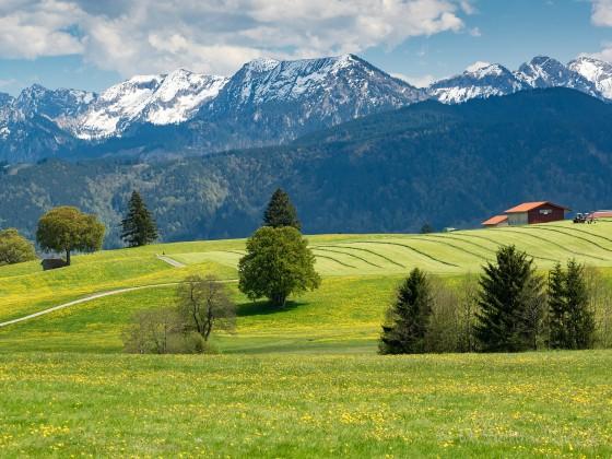 Unterwegs in Oberbayern