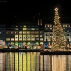 Weihnachtliches Alsterhaus