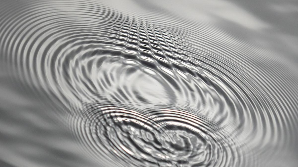 Strukturen im Wasser